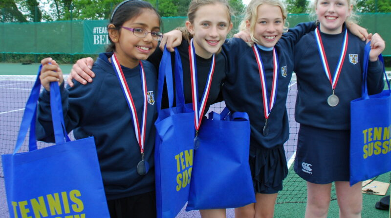 girl's tennis in sussex